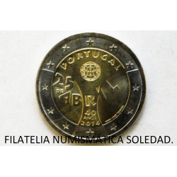 2 € ITALIA GALILEO GALILEI 2014