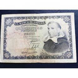 500 pesetas 1946