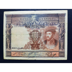 1.000 PESETAS  1 JULIO  1925