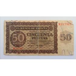 50 PESETAS 21 NOVIEMBRE 1936