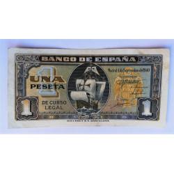 BILLETE DE 1 PESETA DE 1938 28 FEBRERO