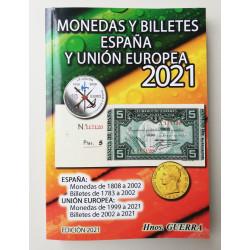 CATALOGO MONEDAS Y BILLETES y MONEDAS 2021