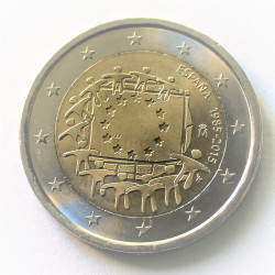 2 € BANDERA EUROPEA 2015