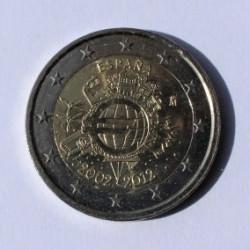 2 € X ANIVERSARIO DEL EURO 2012