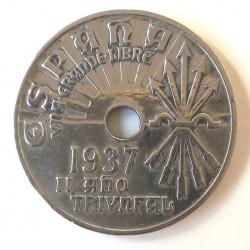 25 CÉNTIMOS 1937 VIENA
