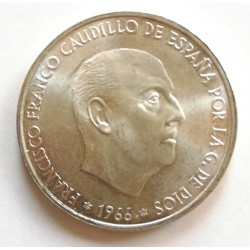 100 PESETAS 1966 *66