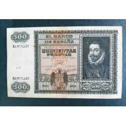 500 PESETAS D. Juan de Austria 1940