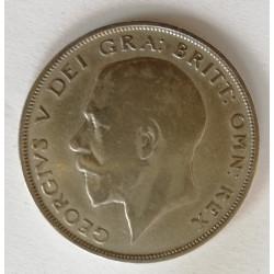 1/2 corona de Jorge V 1921