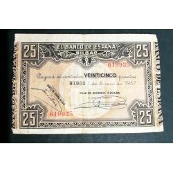 1 ENERO 1937 BILBAO