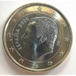1 EURO DE FELIPE VI 2020