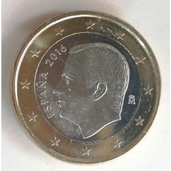 1 EURO DE FELIPE VI 2016