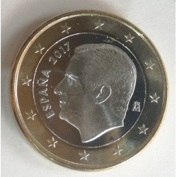1 EURO DE FELIPE VI 2017