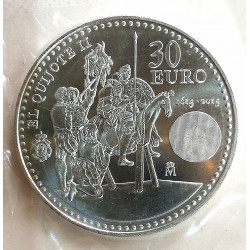 MONEDA DE PLATA DE 30€ AÑO 2015