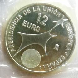 MONEDAS DE 12€  PLATA