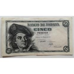 5 PESETAS 5 MARZO DE 1948