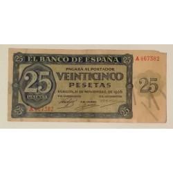 25 PTS 21 NOVIEMBRE 1936