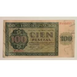 100 PESETAS 21 NOVIEMBRE 1936