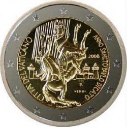 2 € VATICANO 2008