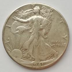 Medio dólar 1941