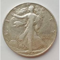Medio dólar 1940