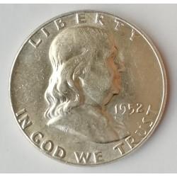 Medio dólar 1949 Franklin