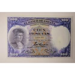 100 PESETAS 1931