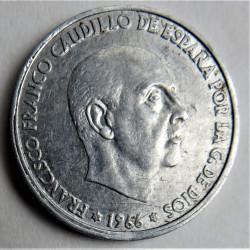MONEDA DE 50 CENTIMOS 1966*68
