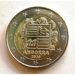 2 EUROS ANDORRA 2020