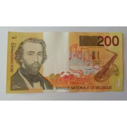 200 francos Bélgica Adolphe Sax