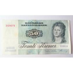 Dinamarca 50 kroner Engelke