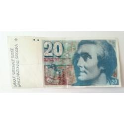 20 francos Suiza