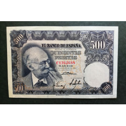 500 pesetas 1951