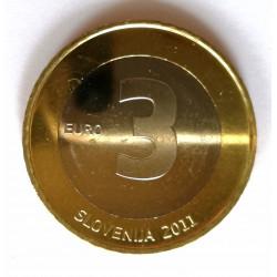 3 EUROS DE ESLOVENIA 2011