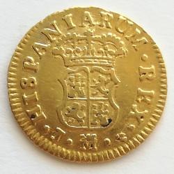 1/2 ESCUDO ORO FERNANDO VI 1759
