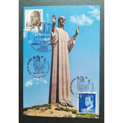 Postal Cristo del Otero, Palencia