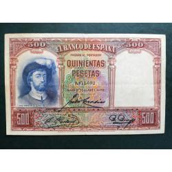 500 pesetas 1931