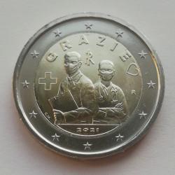 2 € ITALIA Covid-19 - 2021