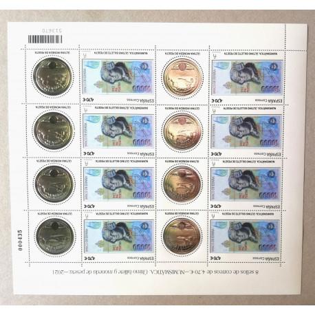 Pliego Numismática, las últimas pesetas