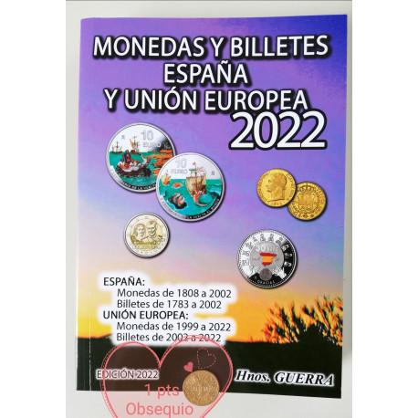 CATALOGO MONEDAS Y BILLETES y MONEDAS 2022