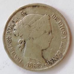 Isabel II 1868