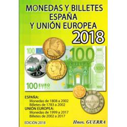 Catalogo Monedas y Billetes España y Unión Europea 2018