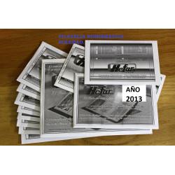 Filoestuches HEFAR TRANSPARENTES para todos los sellos de 2017
