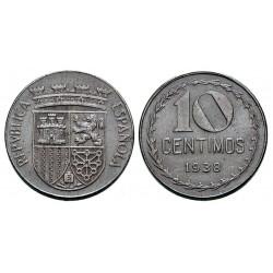 10 CÉNTIMOS 1938 HIERRO