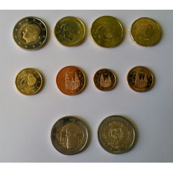 SERIE EUROS ESPAÑA 2018 MAS CONMEMORATIVAS