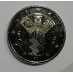 2 EUROS Letonia2018 Centenario de la Fundación de los Estados Bálticos Independientes