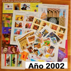 AÑO COMPLETO SELLOS 2002