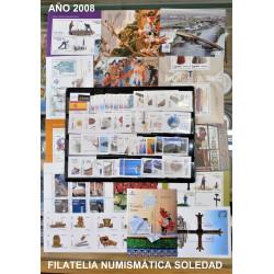 AÑO COMPLETO SELLOS 2008