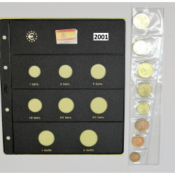 EUROS ESPAÑA Y FUNDA  2001