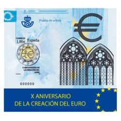 PRUEBA ARTISTA Aniversario de la creacion del euro