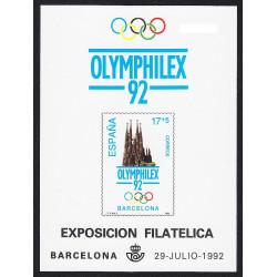 1992 OLYMPHILEX 92 BARCELONA